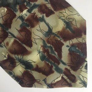 Jerry Garcia Silk Banyan Trees Collection 14 Tie